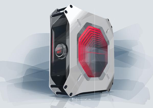 Ультракомпактный игровой компьютер M8 от BMW и ASRock