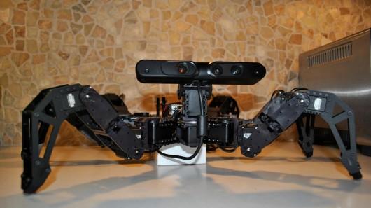 Charlotte — робот, комментирующий свои действия