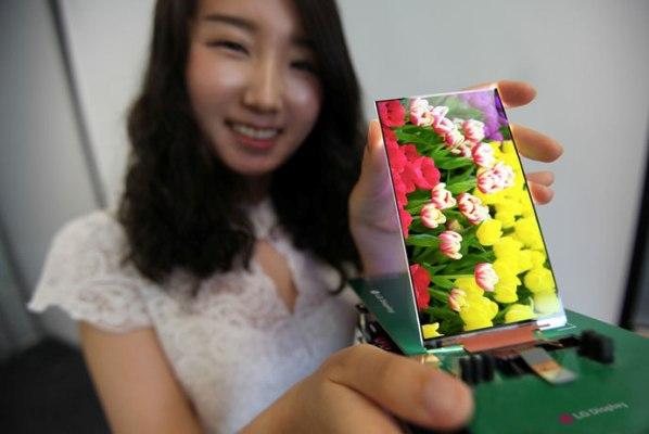 LG показали самую тонкую LCD-панель