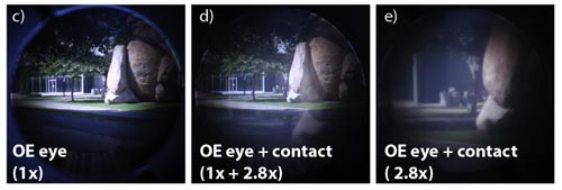 Созданы контактные линзы с зумом