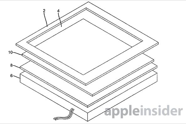 Apple запатентовали «умную» рамку вокруг дисплея