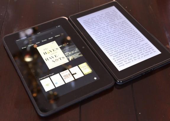 Amazon могут выпустить Kindle Fire HD 2 в августе или сентябре