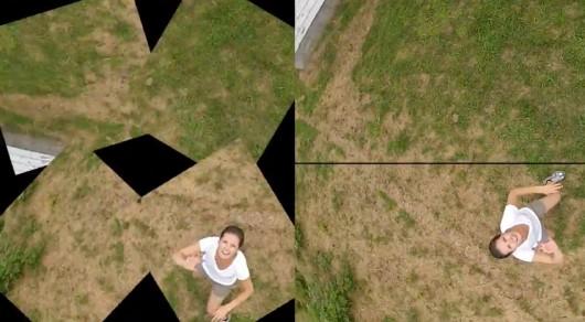 Камера Squito снимает панорамы, когда ее подбрасывают