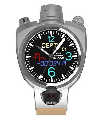 Смарт-часы Hyetis Crossbow с камерой на 41 мегапиксель