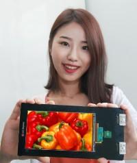LG показали дисплей для смартфонов с разрешением 2560×1440 пикселей