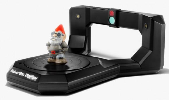 3D-сканер MakerBot Digitizer поступил в продажу