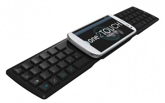 Первая в мире NFC-клавиатура для Android-смартфонов One2Touch Softpad S1