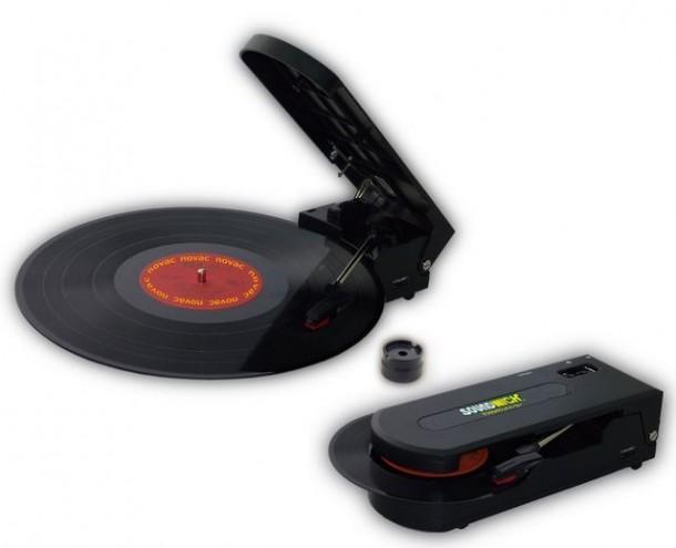 Портативный проигрыватель Novac Soundwich для виниловых пластинок