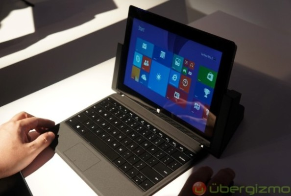 Microsoft представили планшетники Surface 2 и Surface Pro 2 (+видео)