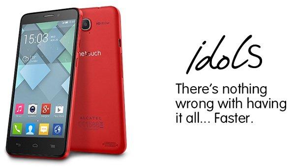 Официально представлены два смартфона и планшетник Alcatel