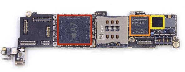Эксперты iFixit разобрали iPhone 5S и не нашли «сопроцессора» М7