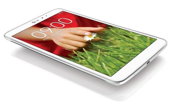 LG возвращаются на рынок планшетных компьютеров с G Pad