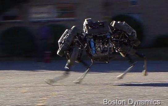 Самый быстрый в мире робот от Boston Dynamics