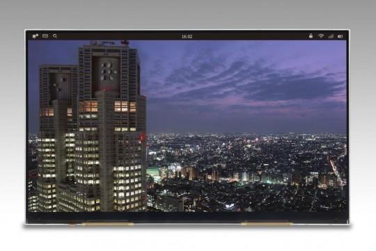 Japan Display представили 4K-дисплей для планшетных компьютеров