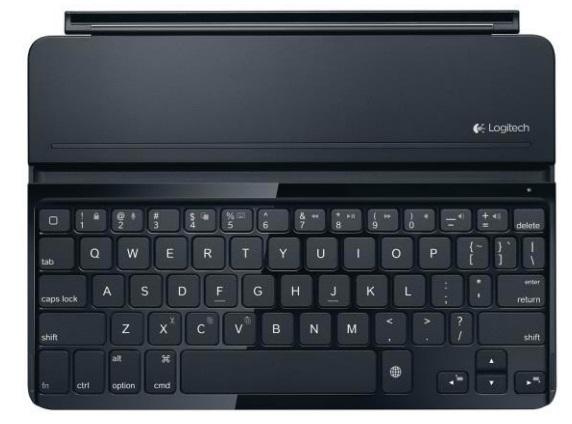 Logitech анонсировали чехол и футляр-клавиатуры для iPad Air