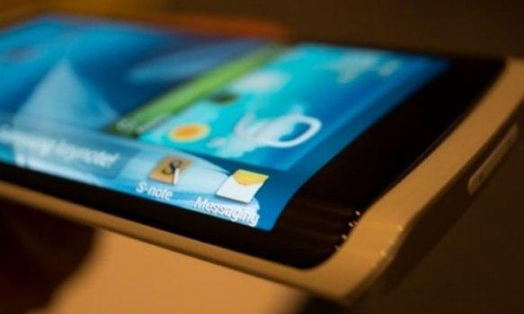 Samsung планируют выпуск смартфона с загнутым по краям дисплеем на 2014 год