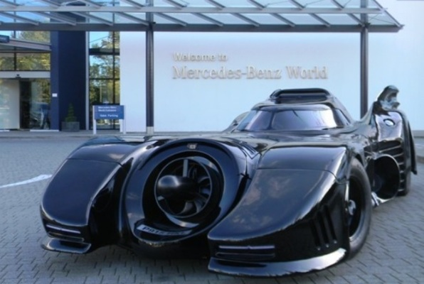 Самодельный бэтмобиль выставят на аукционе за 90 тысяч фунтов