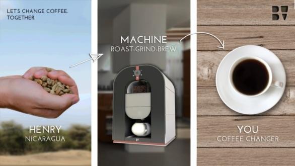 Первая в мире кофе-машина «все-в-одном»