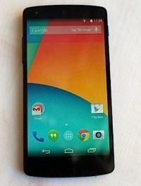 Cмартфон Google Nexus 5 представлен официально