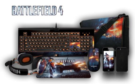 Razer представили линейку периферии и аксессуаров Battlefield 4
