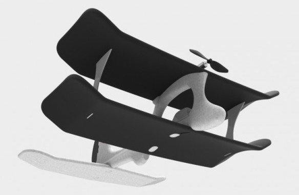 SmartPlane - первый в мире игрушечный самолет, управляемый смартфоном