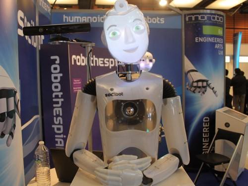 Интерактивный робот SociBot для тех, кто не желает платить за руки и ноги