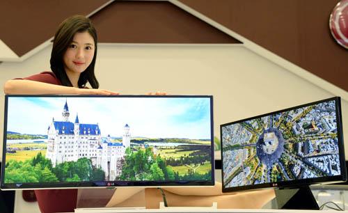 LG представят свой первый 4К-монитор в январе