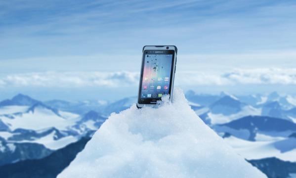 Nautiz X1 – сверхзащищенный смартфон с приятным внешним видом