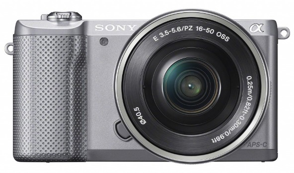 Sony α5000 – самый легкий в мире фотоаппарат со сменными объективами