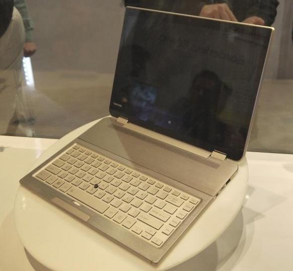 Концепт лэптопа 5-в-1 от Toshiba