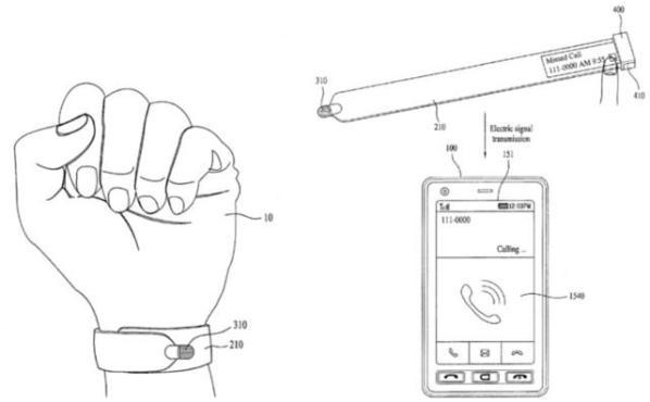 LG запатентовали гибрид стилуса и смарт-часов