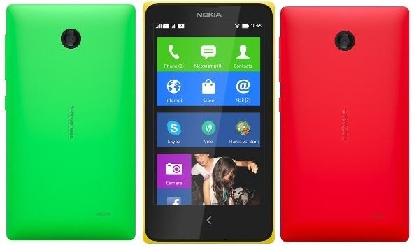 Android-смартфон Nokia X представлен официально