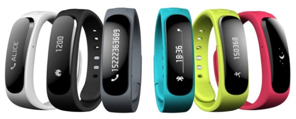 Смарт-браслет Huawei TalkBand с Bluetooth-гарнитурой