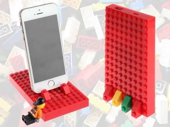 Lego Power Brick – зарядное устройство с элементами игры и творчества