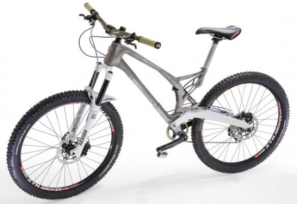 Впервые создана велосипедная титановая рама с помощью 3D-печати