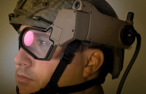 Смарт-очки Q-Warrior для солдат позволят видеть сквозь горы