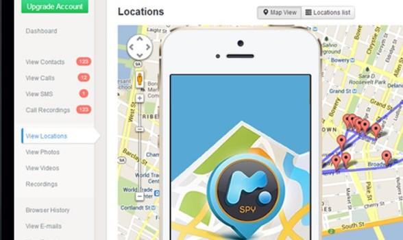Смартфоны со шпионским ПО от mSpy