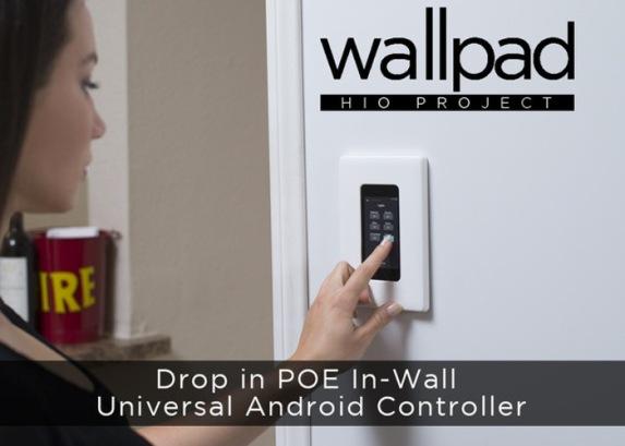 Универсальный настенный Android-контроллер для автоматизации дома и офиса