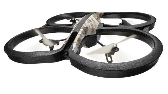 Новая версия квадролета Parrot AR Drone 2.0 GPS Edition с «черным ящиком» и автопилотом
