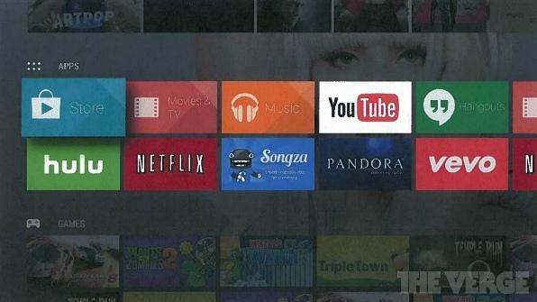 Google готовят развлекательный мультимедийный центр Android TV