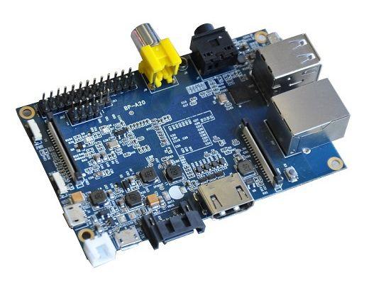 Banana Pi – более дорогой клон Raspberry Pi с более мощным процессором