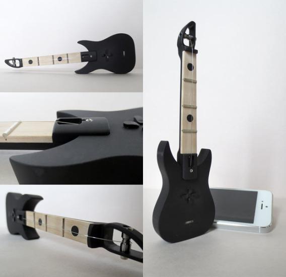 FretPen – миниатюрная гитара-ручка с подключением к iPhone