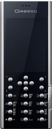 Первый двухсимочный смартфон от лакшари-бренда Gresso