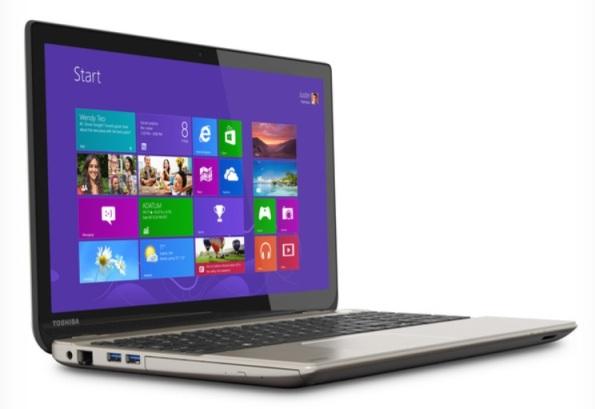 Ноутбук с 4К-дисплеем от Toshiba