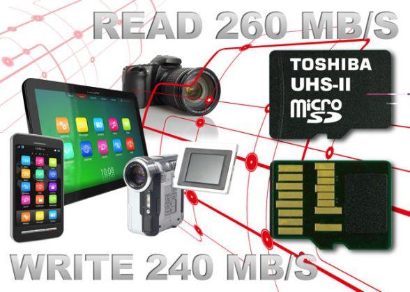 Самые быстрые в мире карты памяти от Toshiba