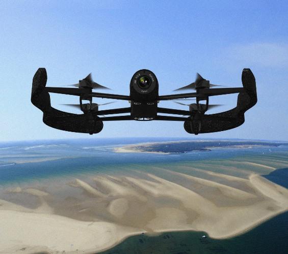 AR Drone 3.0 BeBop: радиус 2 км, более мощная камера, поддержка Oculus Rift