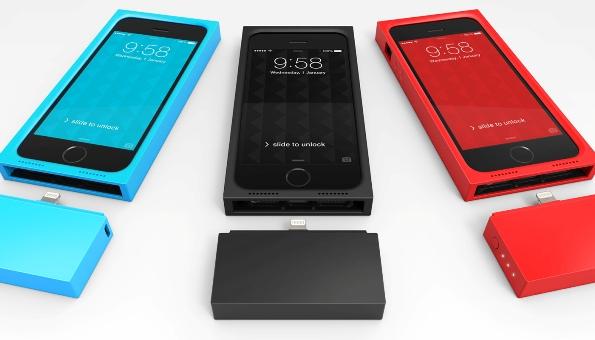 Модульный чехол-аккумулятор Augment для iPhone 5 и 5S