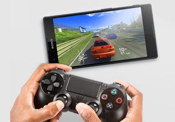 Планшетофон Sony Xperia T2 Ultra Dual с поддержкой геймпада DualShock 4