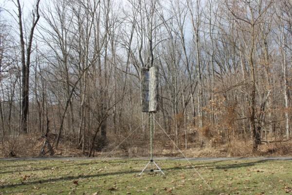 Портативная складная ветряная турбина Windpax
