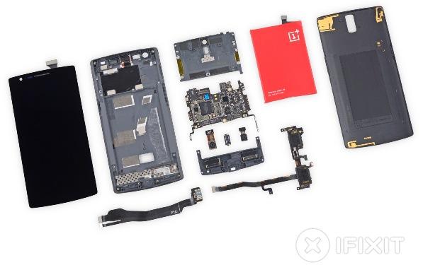 Специалисты iFixit разобрали смартфон OnePlus One